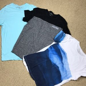 Lot of 3 men's American Eagle t shorts size Large